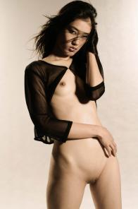 Sexy Singaporean erotic nude model