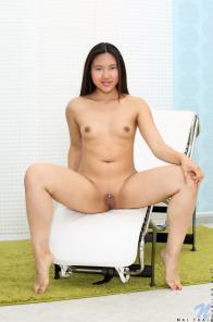 Mai Thai Shows Pierced Pussy
