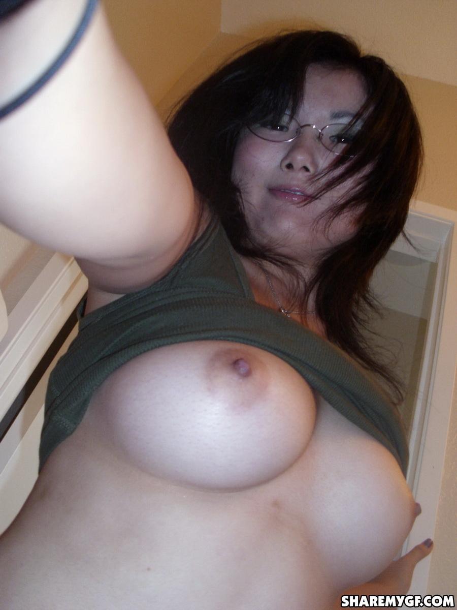 My ex gf masturbating for me 5
