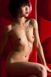 Nude model Tessa from Vietnam