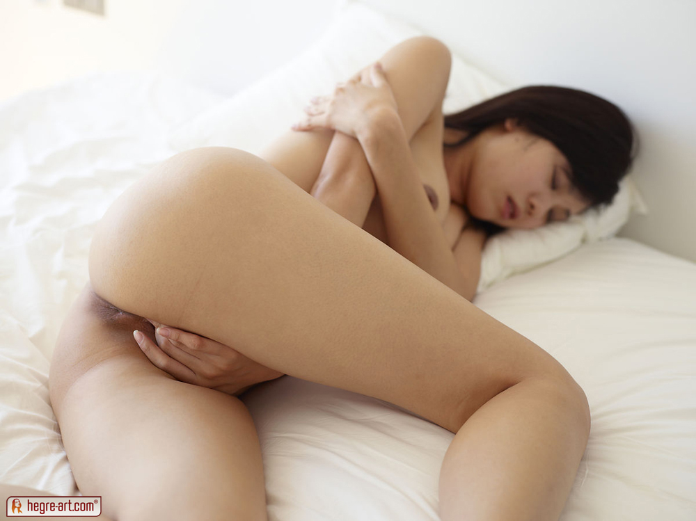 image Rubbing her hairy pussy on my hard cock reverse cowgirl