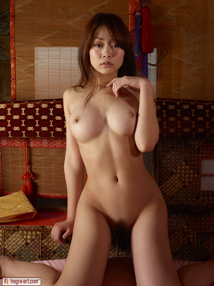 Rie Is A Sexy And Young Japanese Nude Geisha - Teens In Asia-2973