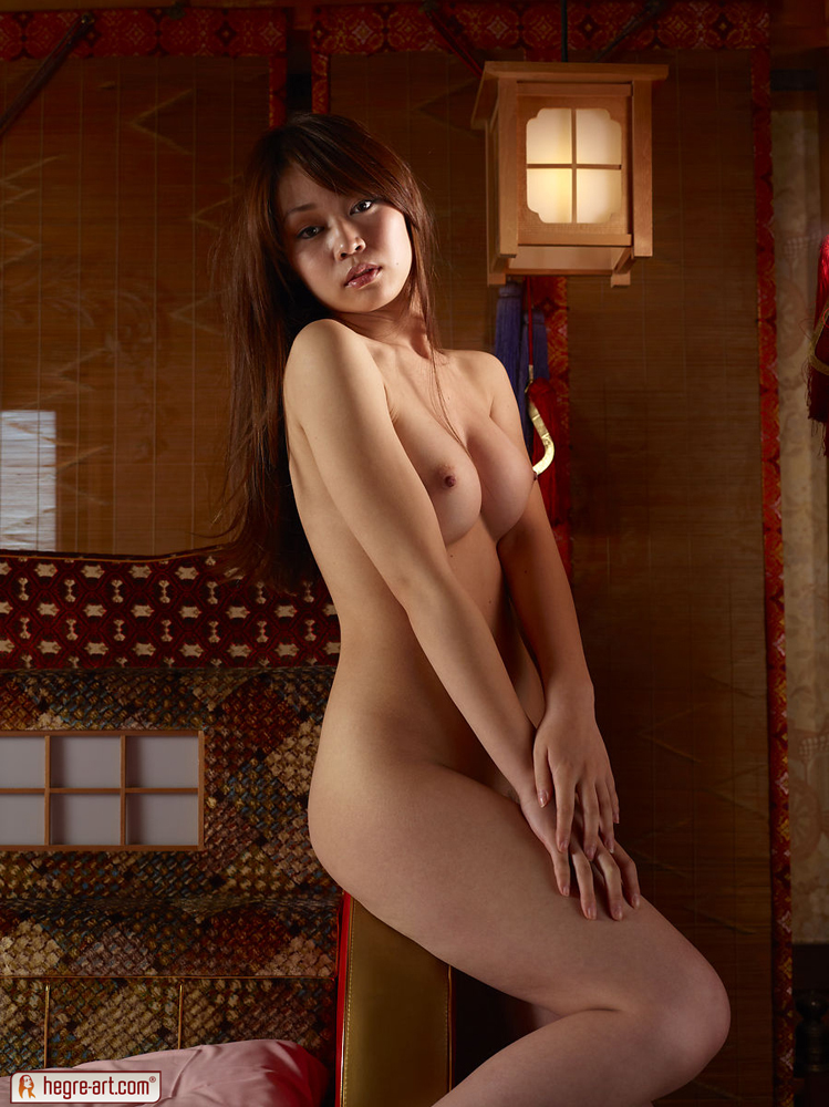 Rie Is A Sexy And Young Japanese Nude Geisha-4285