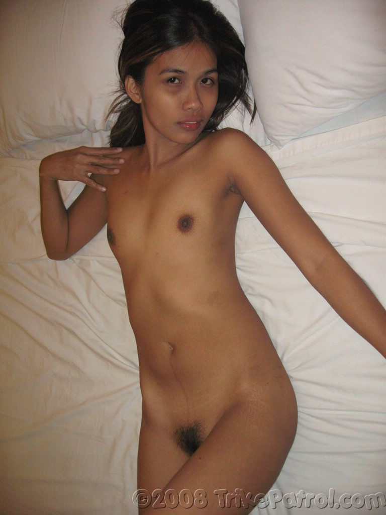 Naked Petite Filipina Girl With Tiny Little Boobs-8284
