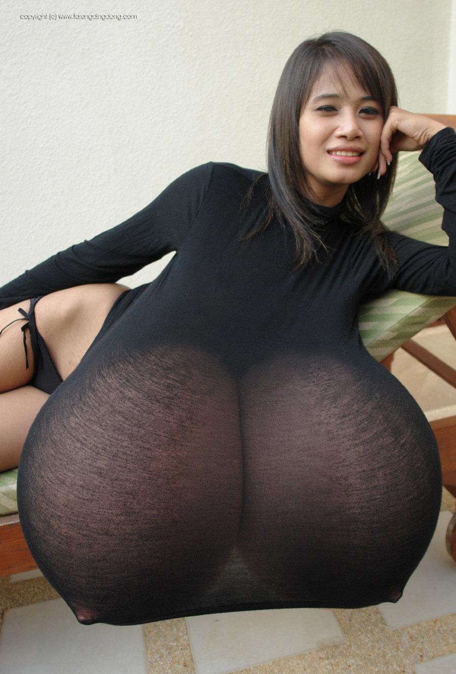 For penis strange girls tits twin