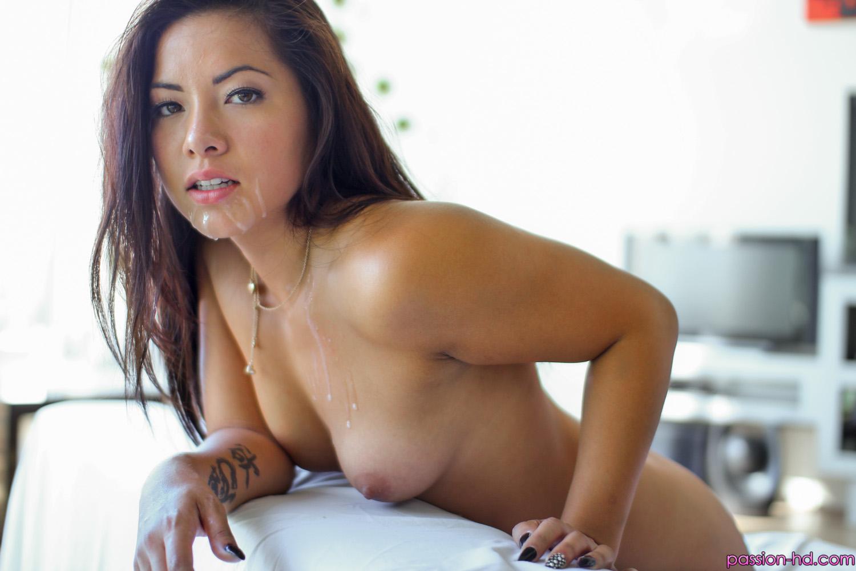 Hot cute asian amateur sucks and fucks a huge cock 9