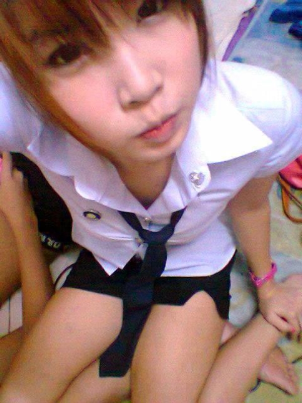 Pov Teen Uniform School