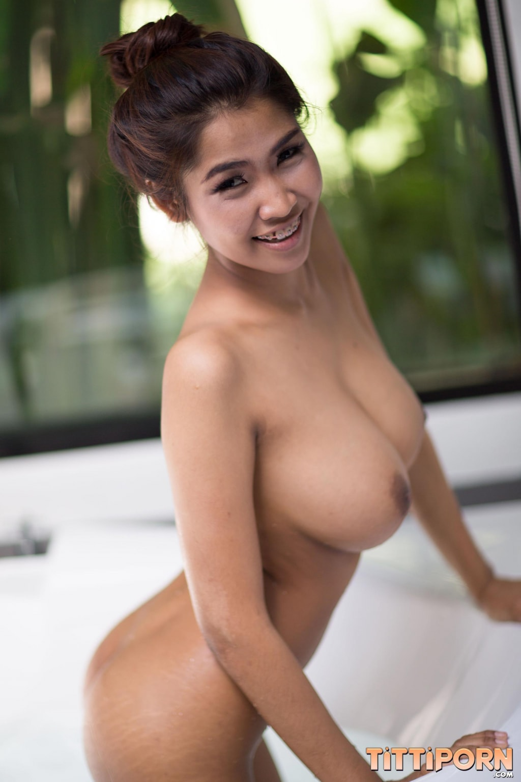 Huge Tits Thai Teen Tittiporn Bathing - Teens In Asia-5454